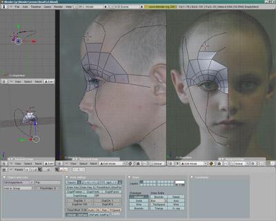 Начало построения 3D mesh по точкам